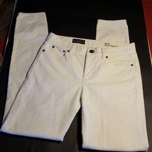 J. Crew mid-rise toothpick corduroy pants